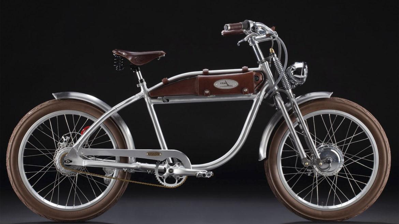 Italjet Ascot Silver,vélo à assistance électrique pour se promener à Cannes