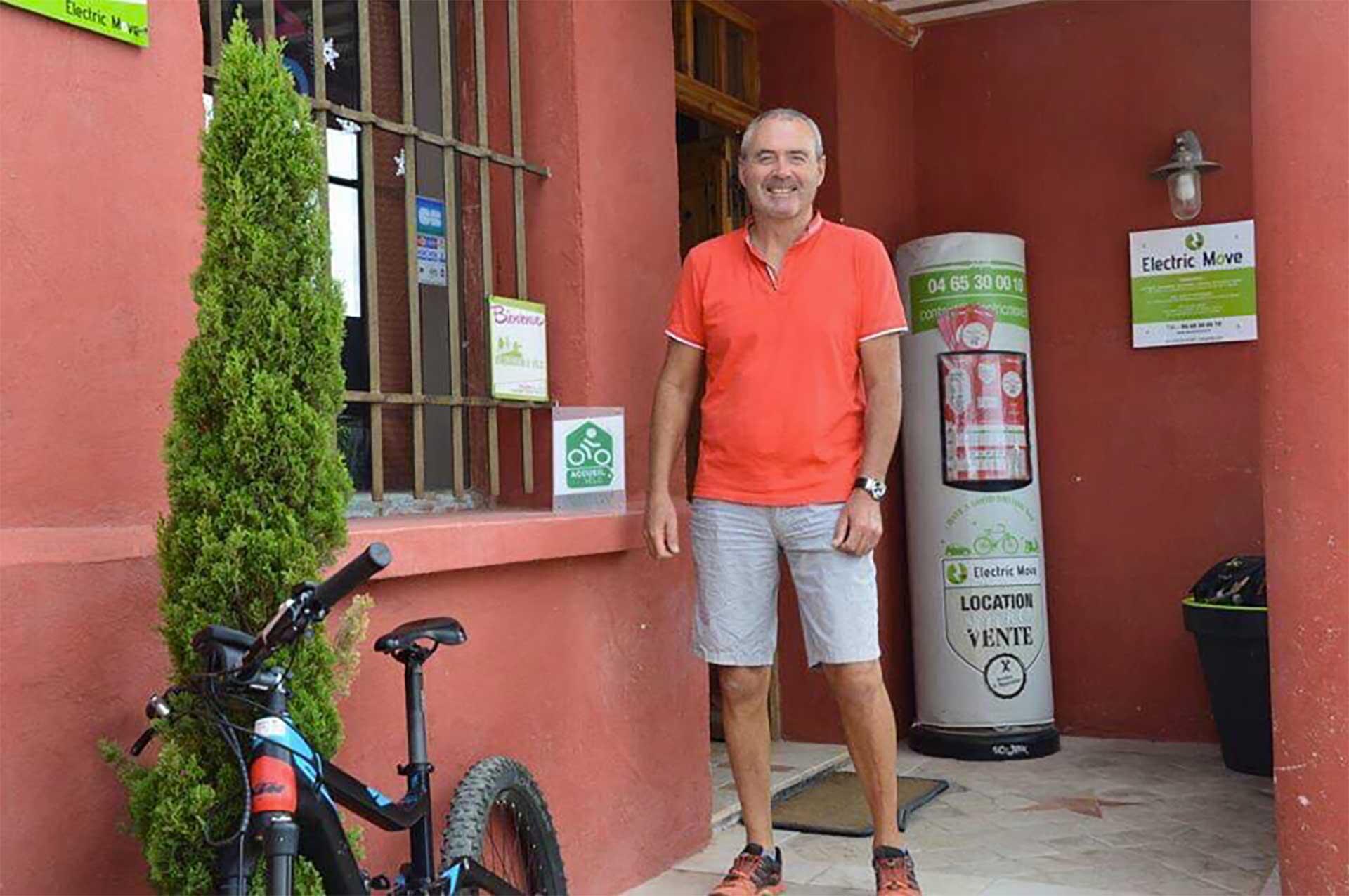 Éric Patural, directeur de Electric Move et formateur des stages pédagogiques apprentissage Vélo