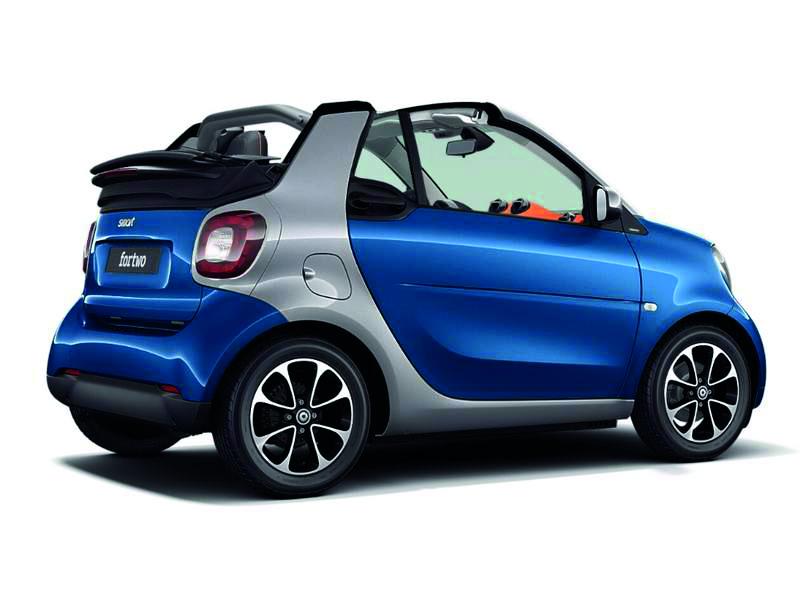 Smart fortwo cabriolet électrique