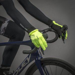 GripGrab - Gants hiver coupe-vent Ride Hi-Vis Windproof Winter Glove