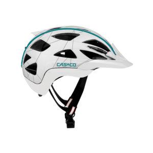 casque casco activ2 white turquoaz