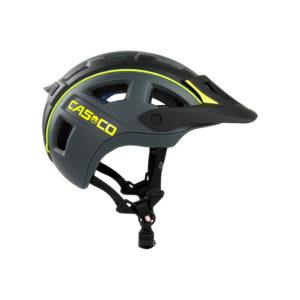 casque casco mtbe2 black grey neon yellow